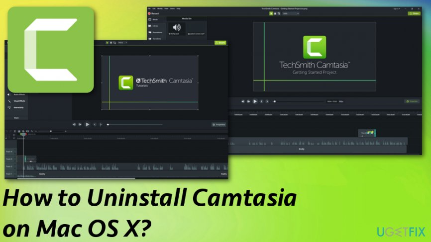 Ways to Uninstall Camtasia on Mac OS X