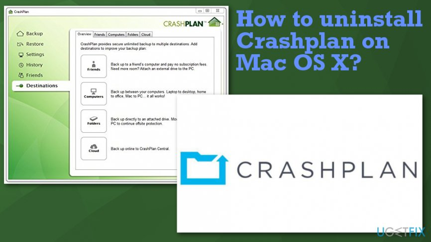 Uninstall CrashPlan on Mac