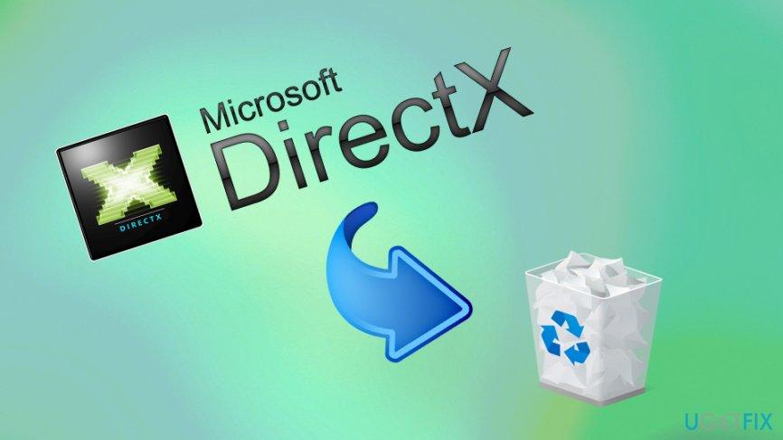 Uninstall DirectX from Windows