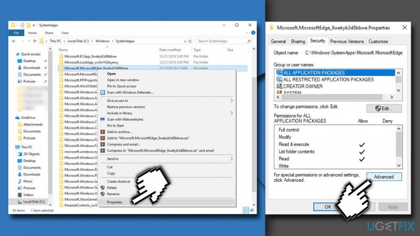 Microsoft.MicrosoftEdge_8wekyb3d8bbwe folder