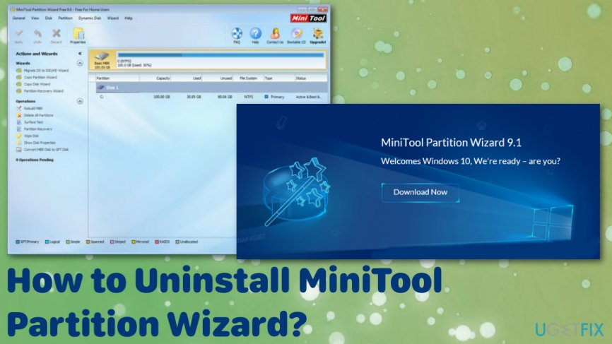 How to uninstall MiniTool Partition Wizard