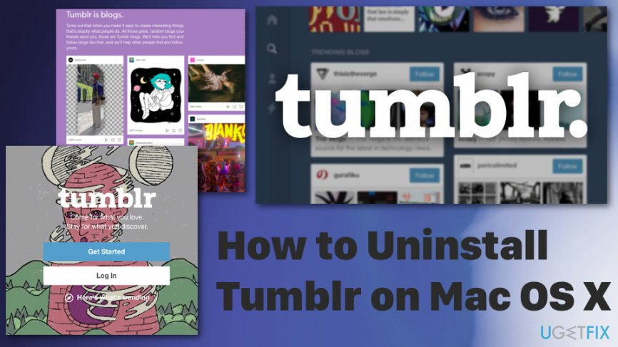 How to uninstall Tumblr from Mac