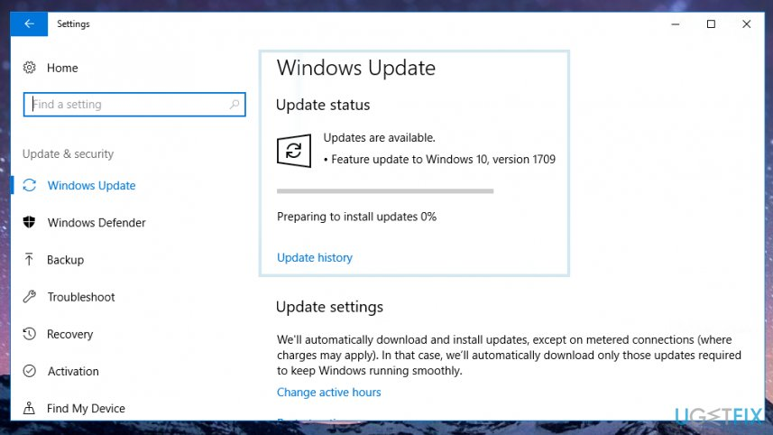 Install Windows Updates
