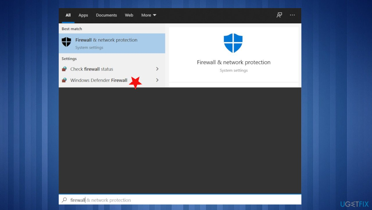 Windows Defender Firewall