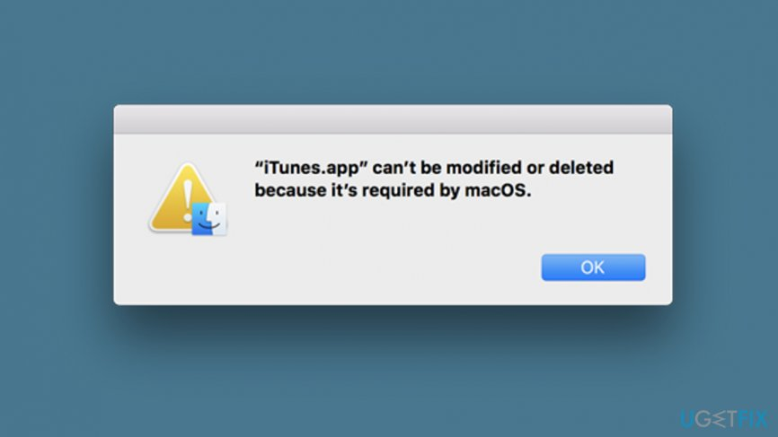 Cannot Uninstall iTunes