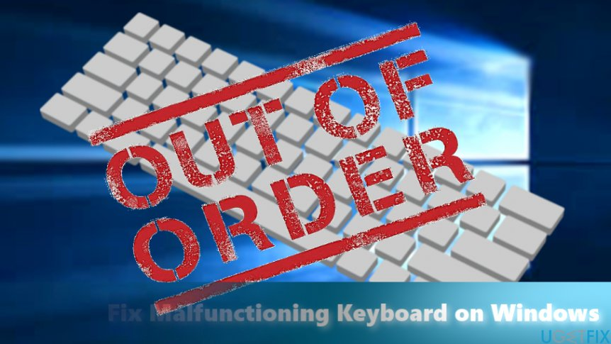 The cause of non-functioning keyboard might not only reside in the hardware