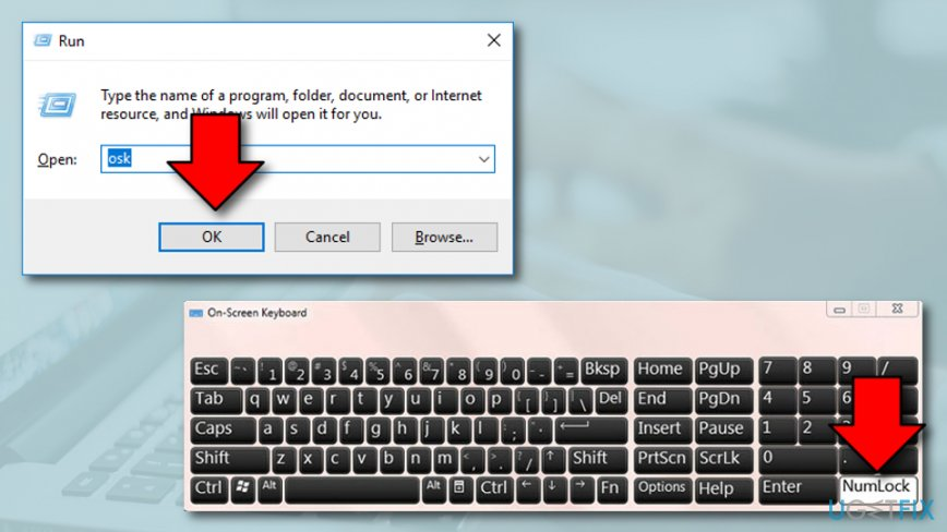 Remove Keyboard Issue When it Types Numbers Instead of Letters