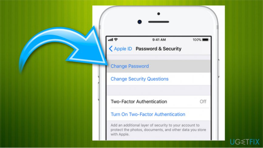 Phone or iDevice method of password recovery