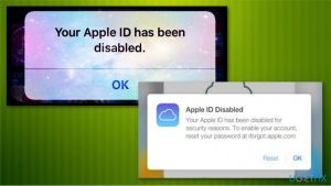 """How to fix """"Your Apple ID is blocked or disabled"""" error?"""