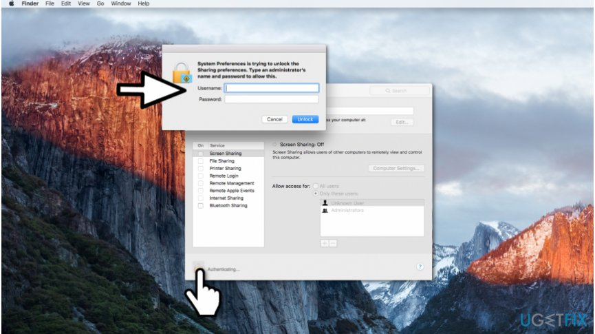 Ways to enable Mac screen sharing
