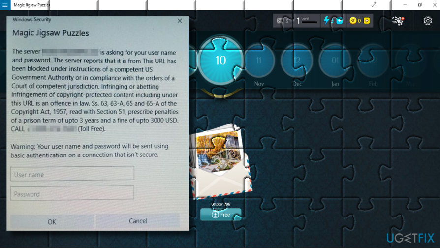 how to uninstall magic jigsaw puzzles