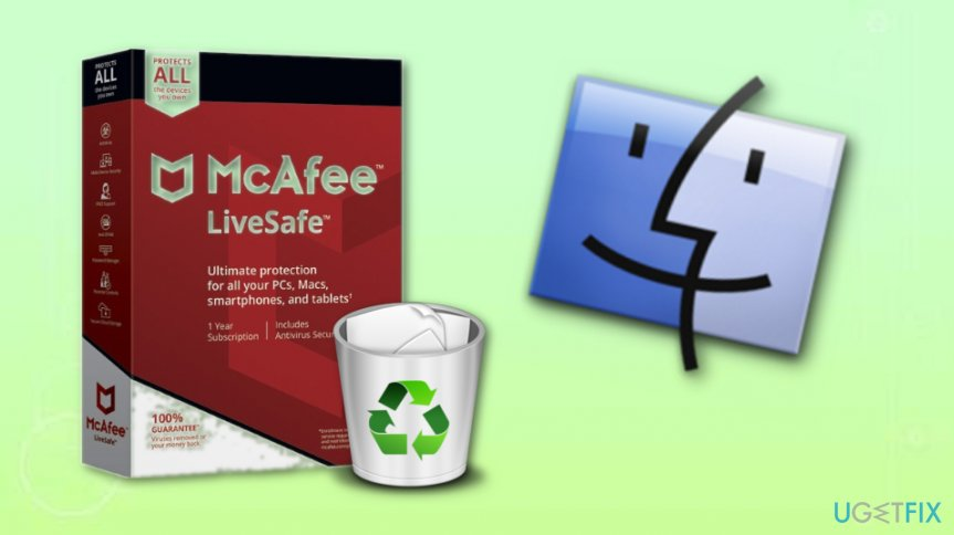 Uninstall McAfee from your Mac OS X PC