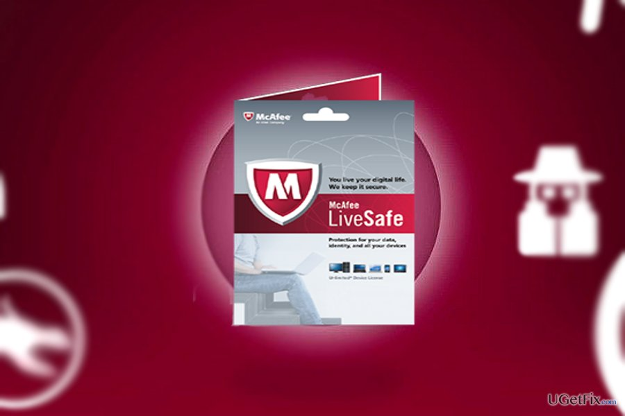 McAfee LiveSafe is easy to manage