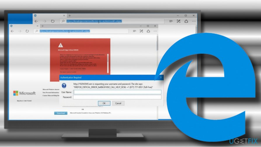 Fix Microsoft Edge Critical ERROR