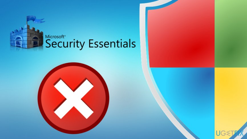 Microsoft Security Essentials can't uninstall