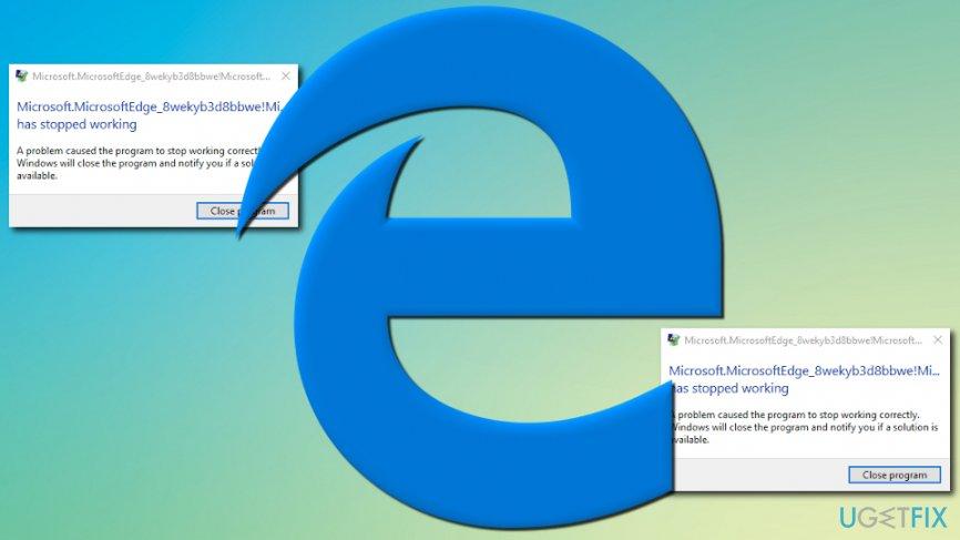 MicrosoftEdgeCP.exe error