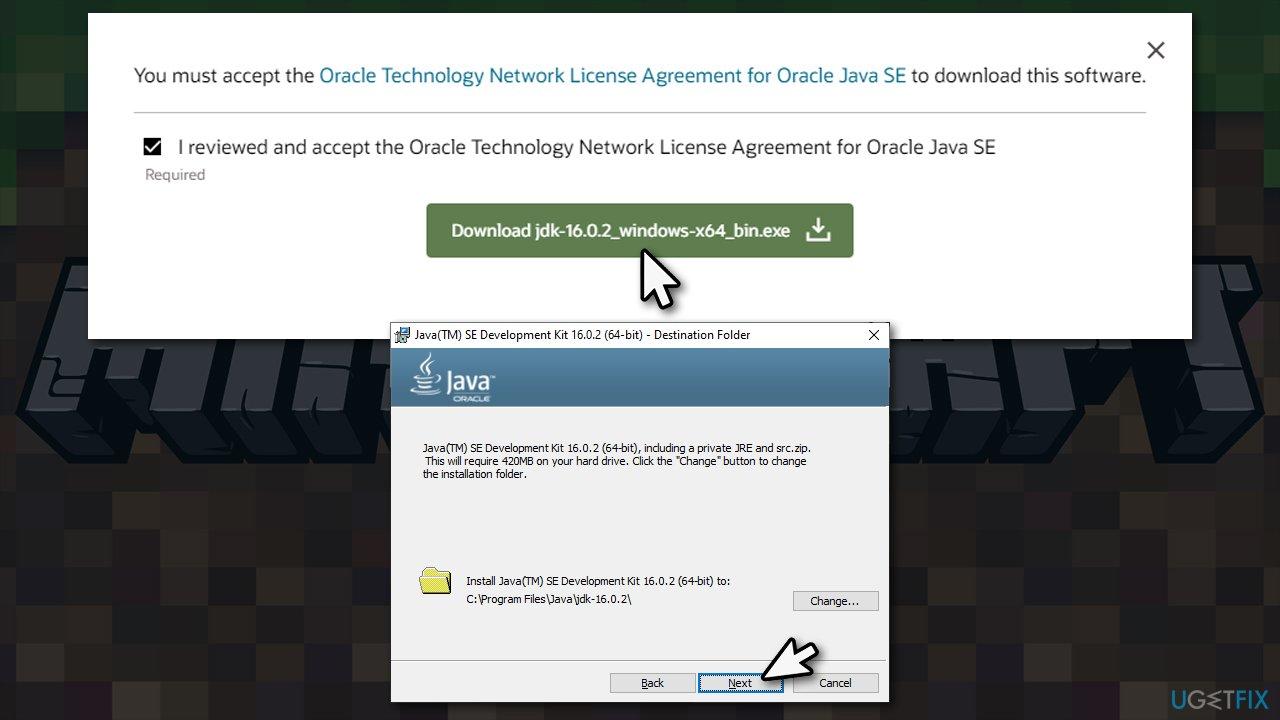 Download Java 16