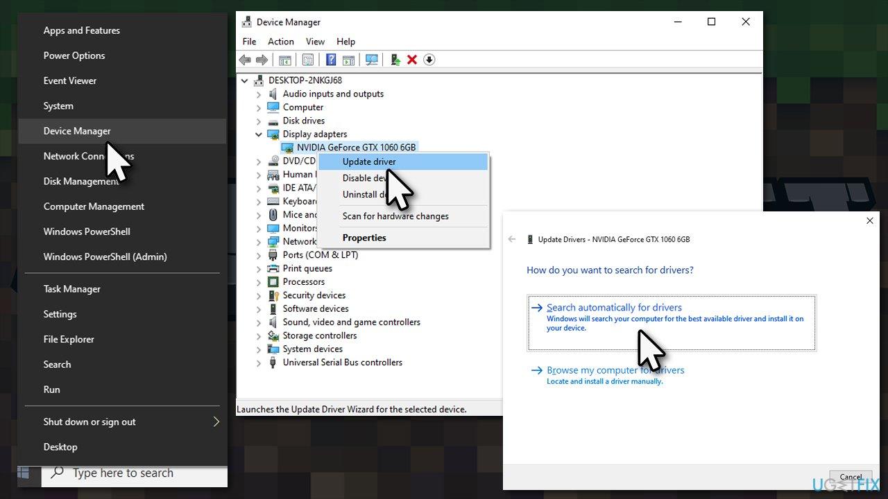 Install GPU drivers