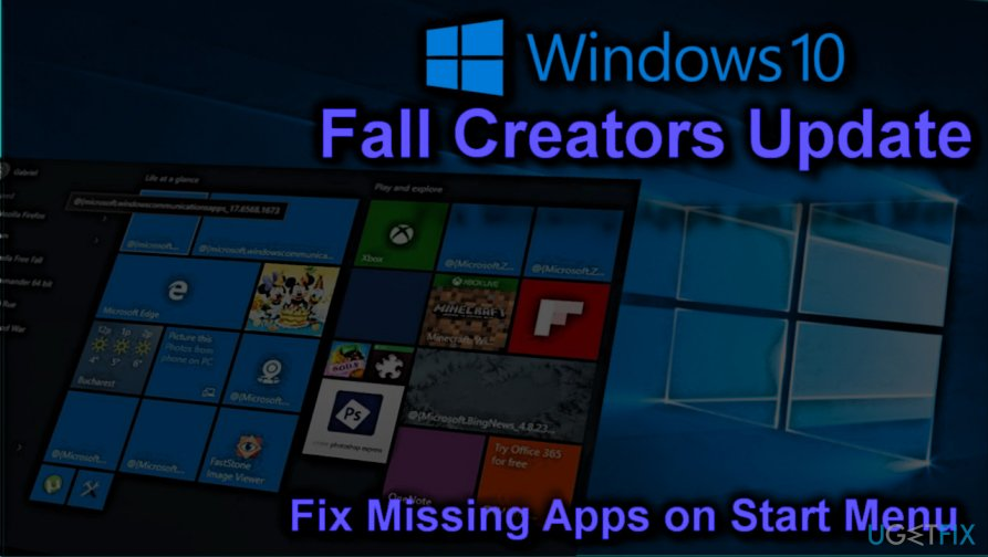 Fix Missing Store apps on Fall Creators Update