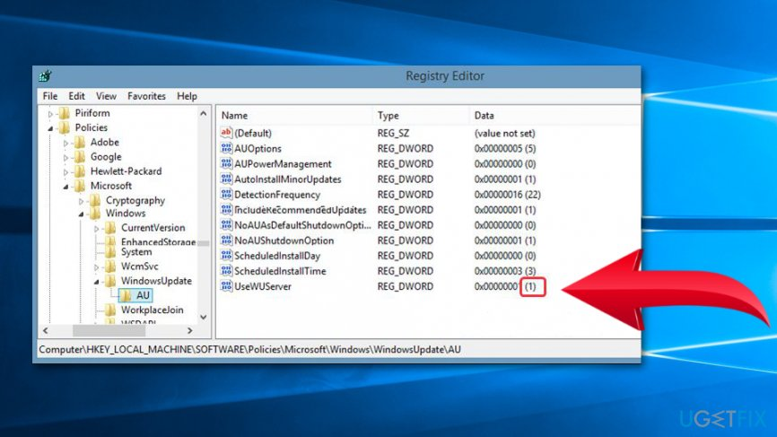 Modify Windows Registry