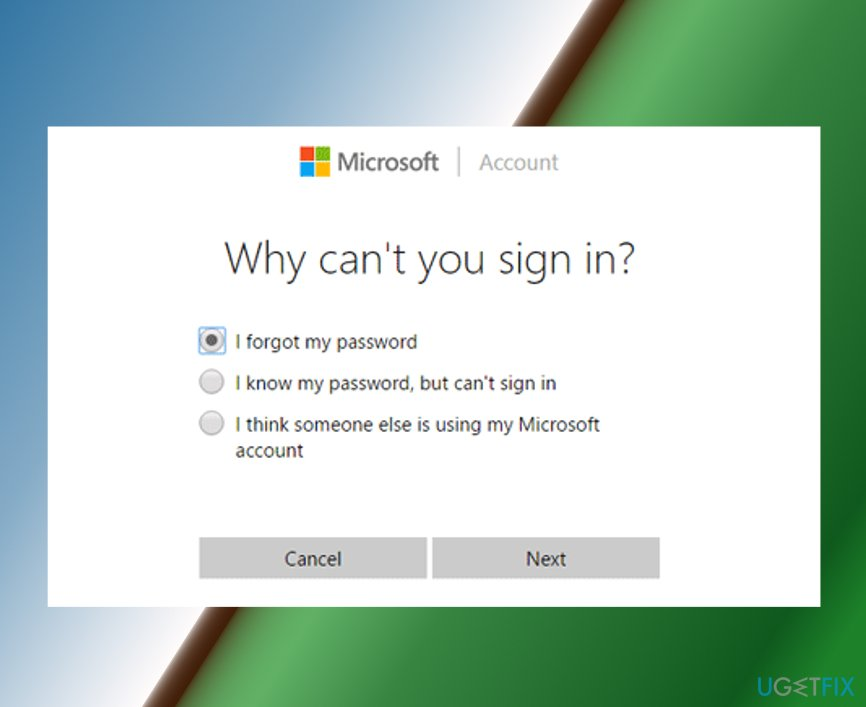 forgot your microsoft account email