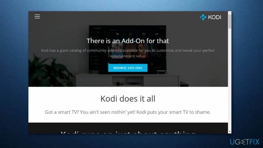 Olpair Kodi error fixing methods