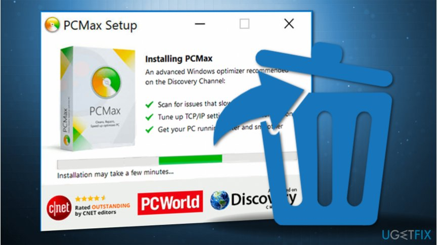 How to uninstall PCMax from your machine