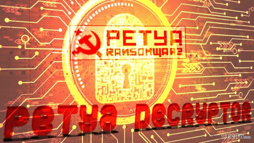 Decrypt Petya Ransomware