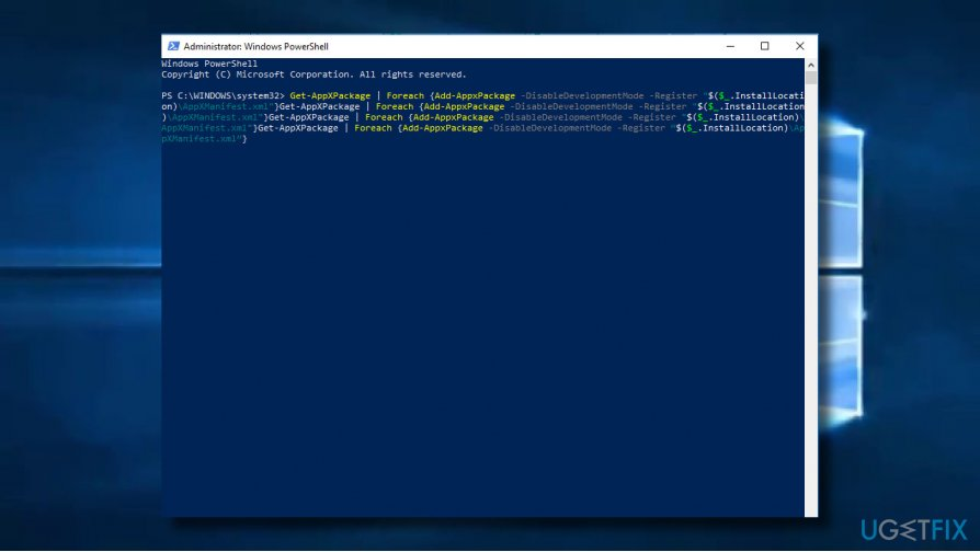 Run Windows PowerShell scrip