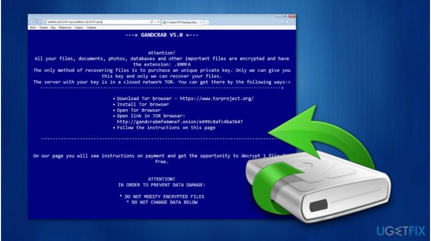 Gandcrab 5 decryption