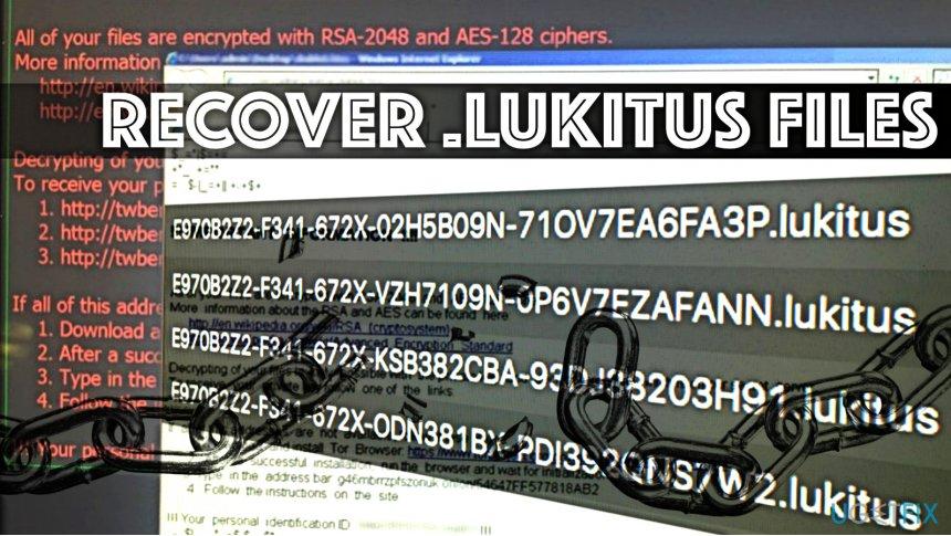 Decrypt Lukitus files
