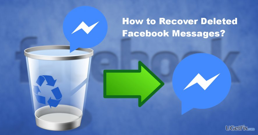 an illustration of Facebook messages recovery