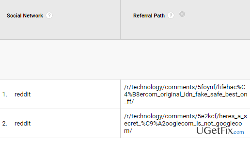 How to remove reddit com referral spam from Google Analytics