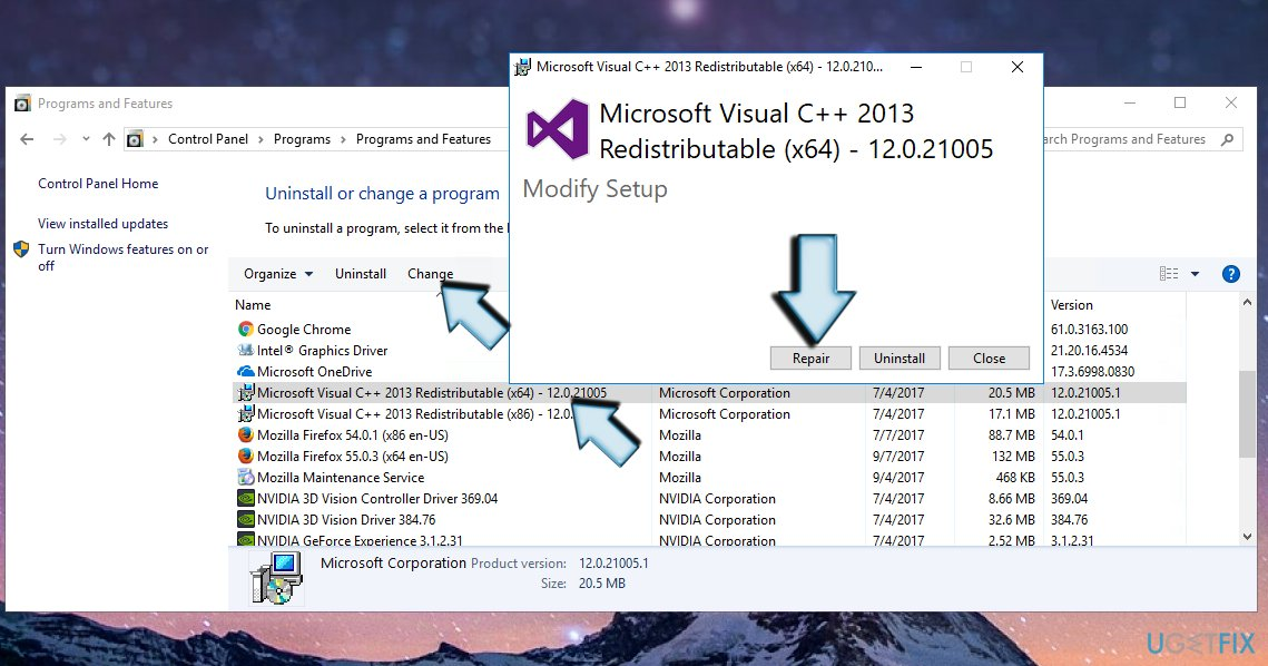 download microsoft visual c++ redistributable for windows 10