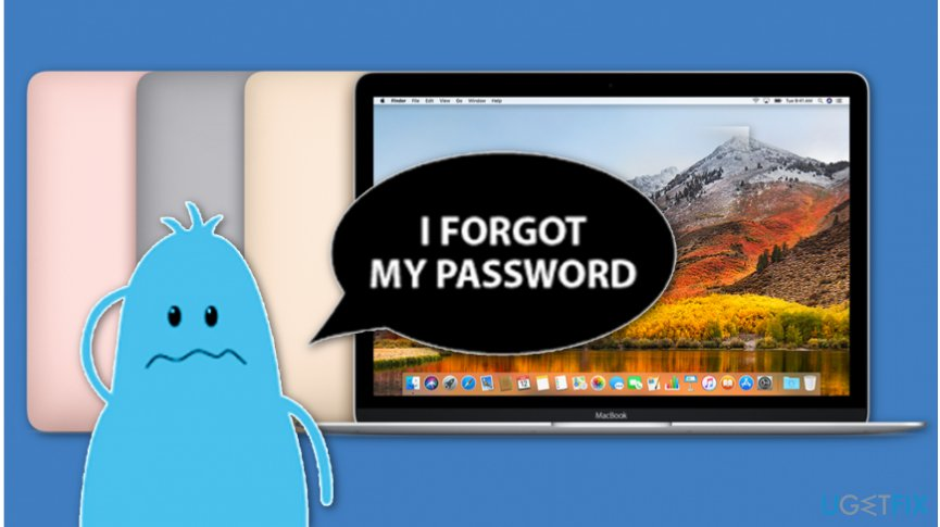 Learn how to recover forgotten Mac password