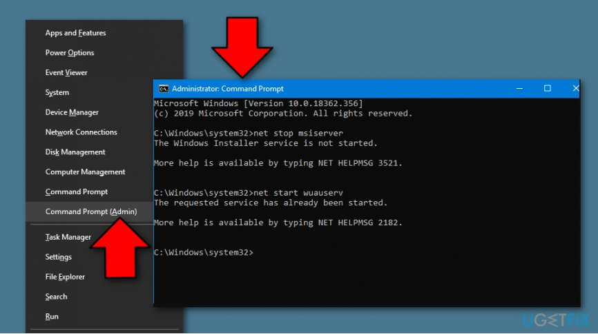 Error Code 0x800F0923 fixing method