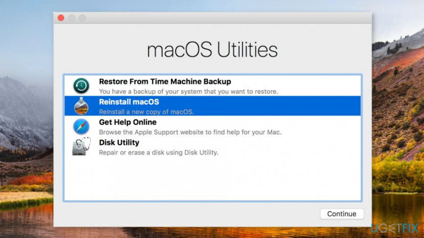 "How to fix ""macOS needs to repair your Library to run"