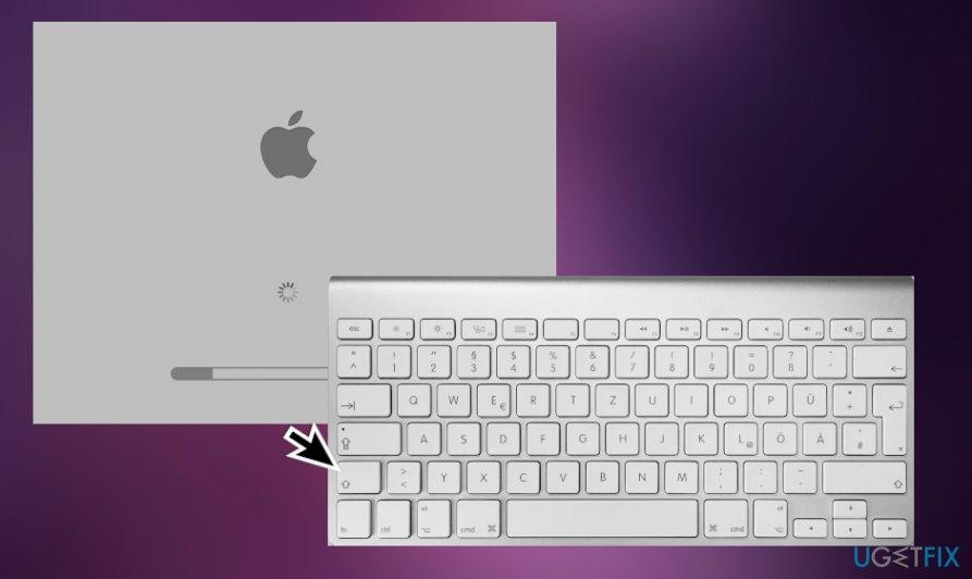 Restart Mac into Safe Boot