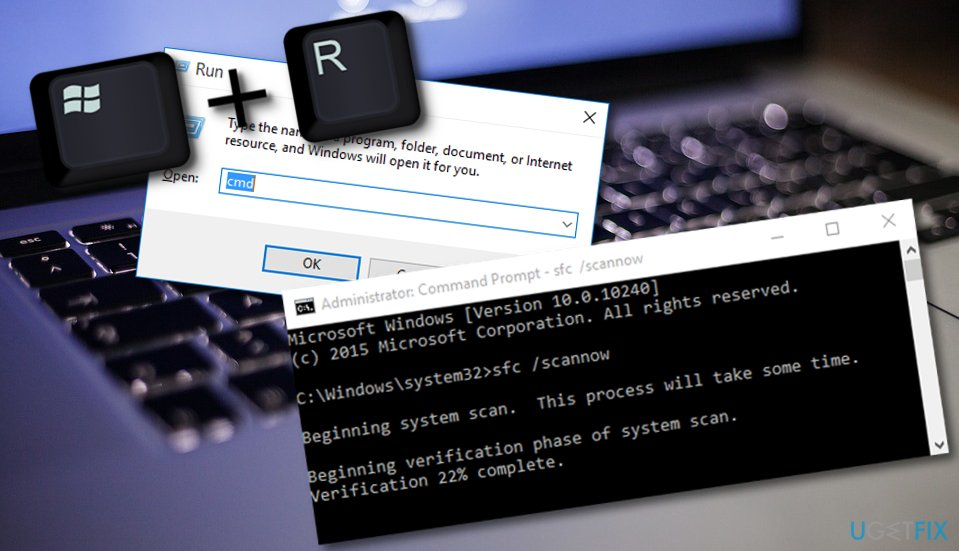 Take care of Windows Resource Protection could not start the repair service