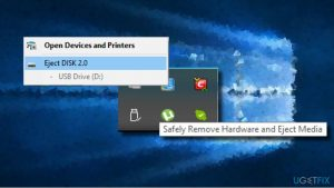 "How to Fix the Missing ""Safely Remove Hardware"" Icon on Windows10?"