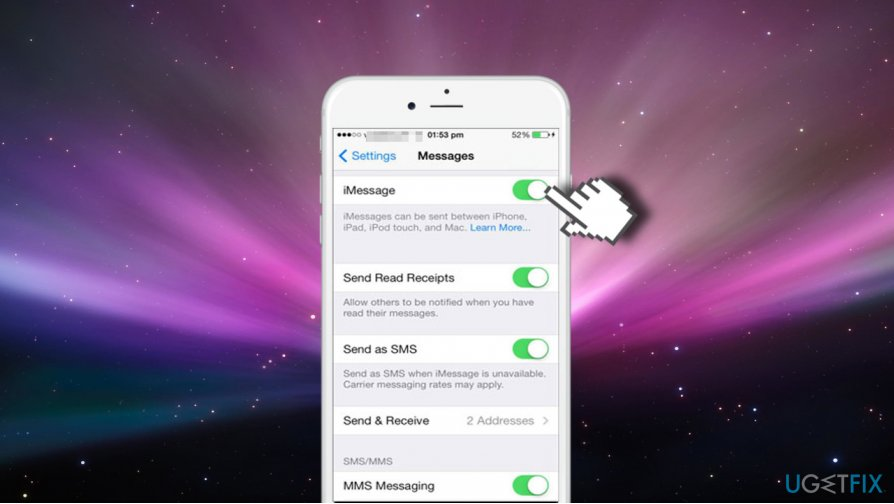 Set Up iMessage