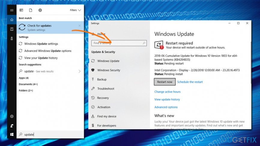 Slow LAN speed - update Windows 10