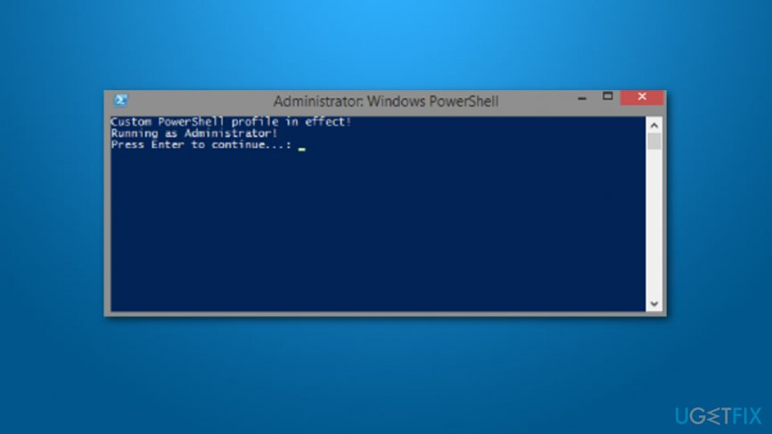 Fix INET_E_RESOURCE_NOT_FOUND Error on Windows 10 by running commands with Powershell