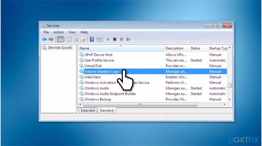 System Restore Error 0x80070005 removal guide