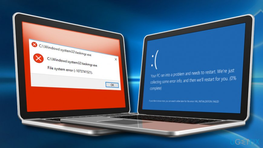 File System Error – 1073741515