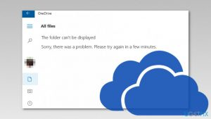 "How to fix ""The folder can't be displayed"" error in OneDrive?"