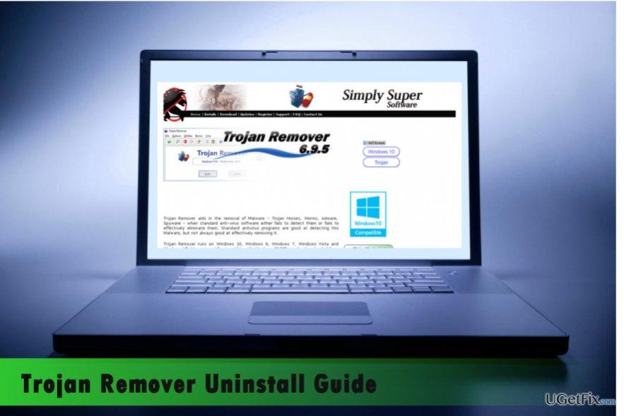 a printscreen of Trojan Remover