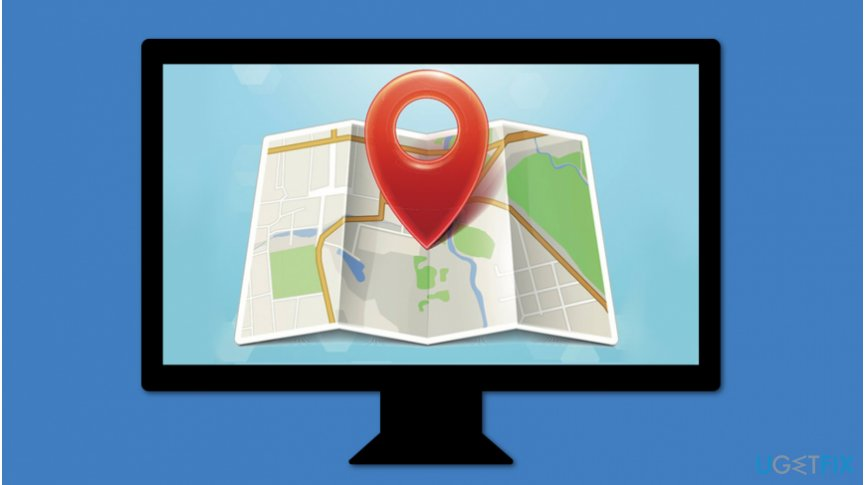 Windows location services