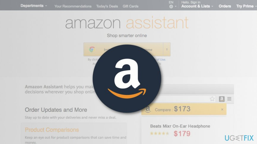 Uninstall Amazon Assistant