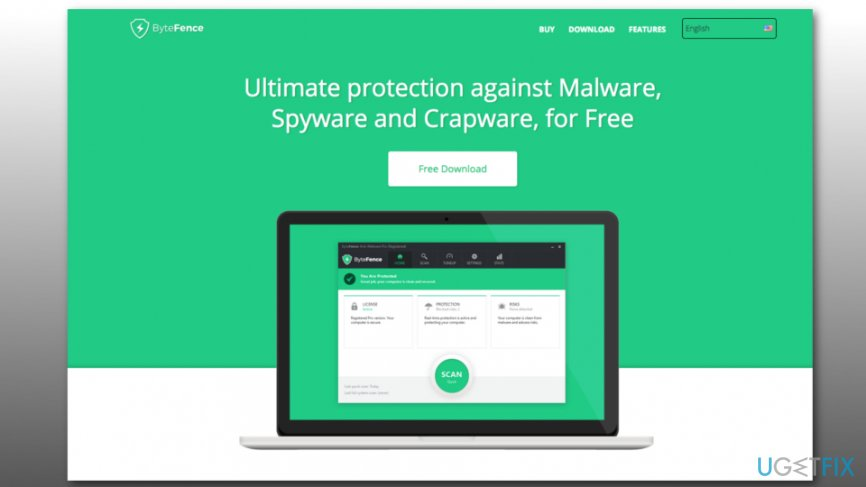 Uninstall ByteFence anti-malware